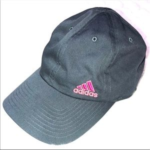 Adidas   Cap   Gray and Pink   Like New